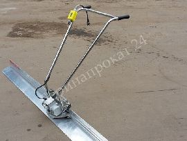 Vibrating screed hire, concrete vibrating screed (compactor) to rent or for hire