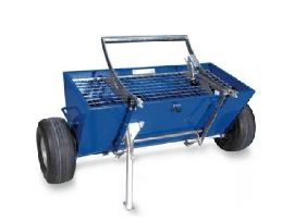 Material Spreader with 2 wheels BTC