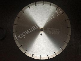Cold pressed diamond disk 350х3.2х10х25.4