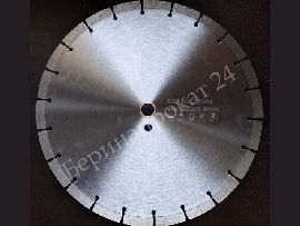 Cold pressed diamond disk 350х3.2х12х25.4