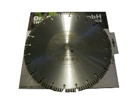 Reinforced concrete diamond blade 350X25.4 Dr.Schulze Laser Turbo U (Germany)