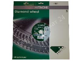 Diamond cutting disc Hitachi 350x3,2x25,4 segmented., Universal, premium quality