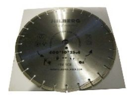 Buy Reinforced concrete diamond blade 450/25.4/10 Trio Diamond Hilberg Hard Materials (China)