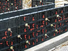 Пластиковая панель опалубки от 40х60 до 120х60 см