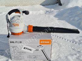 Всасывающий измельчитель (садовый пылесос) Stihl SHE 81