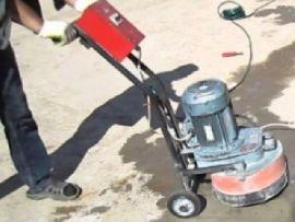 Технологические этапы проведения работы по шлифовке бетона