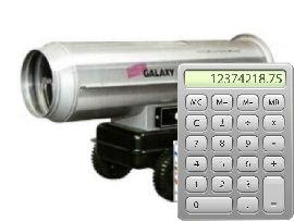 Калькулятор мощности тепловой пушки