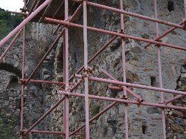 Аренда строительных лесов для нестандартных условий работы