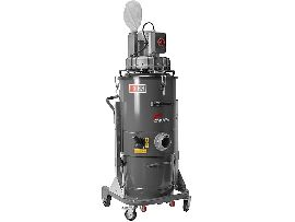 Промышленный пылесос Delfin Zefiro 60 T4 для сбора пыли, жидкостей и твердого мусора