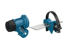 Dust extraction for virtually dust-free chiseling Bosch GDE max Professional