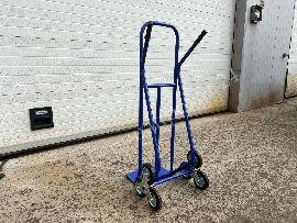Лестничная тележка КГЛ (200кг, колеса металл обрезиненный 160 мм)