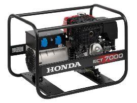 Генератор строительный Honda ECT 7000