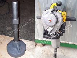 Оправка для забивки свай и бензиновый отбойный молоток Wacker Neuson