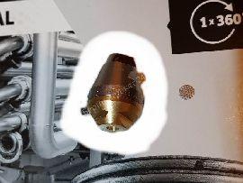 Роторная форсунка Karcher для промывки труб D30/040