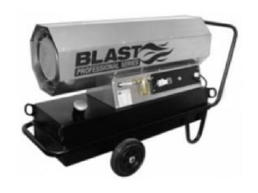 Тепловая пушка прямого нагрева Blast HSW 50 T (Германия) в аренду
