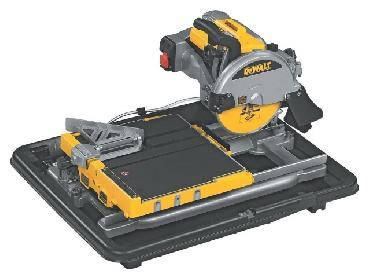 Wet tile saw DeWALT D 24000 for rent