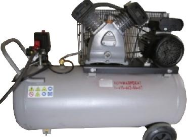 Air Compressor AIRCAST/REMEZA SB 4/C-100.LB30 for rent