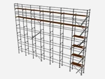 Outdoor Scaffolding LRSP 60 for rent