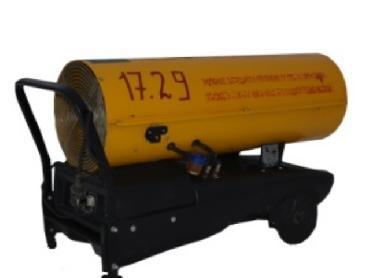 Тепловая пушка прямого нагрева Oklima SD 170 (Италия) в аренду