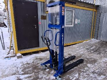 Rent of the manual hydraulic stacker Eurolifter ELH 16