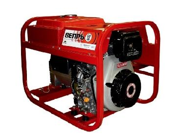 Rent of a portable diesel generator Vepr ADP 6,0-230 VL-S