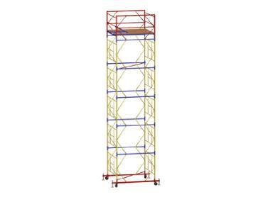 Аренда строительной вышки туры ВСР 7 площадка 2,0 х 2,0 метра высота 10,0 метра (301 кг)