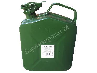 Металлическая канистра 5 литров в аренду и напрокат