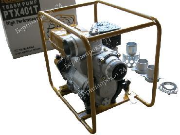 Мотопомпа для сильнозагрязненной воды Robin Subaru PTX 401 T в аренду и напрокат