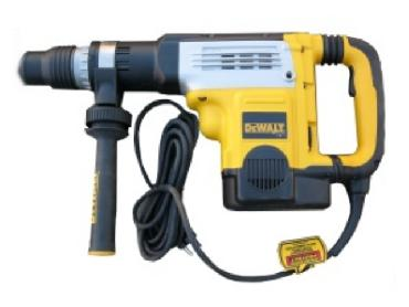 Demolition hammer drill DeWalt D25761K for rent