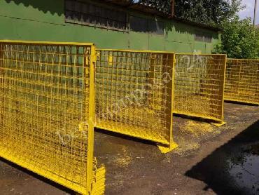 Строительные ограждения металлические ИСО-2 (1.6 х 2 метра) в аренду
