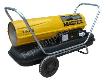 Direct oil heater MASTER B 100 CED for rent
