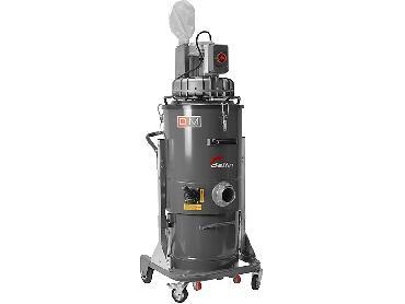 Промышленный пылесос Delfin Zefiro 60 T4 для сбора пыли, жидкостей и твердого мусора в аренду и напрокат
