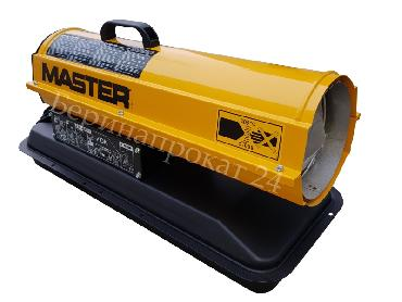 Direct oil heater MASTER B 35 CED for rent