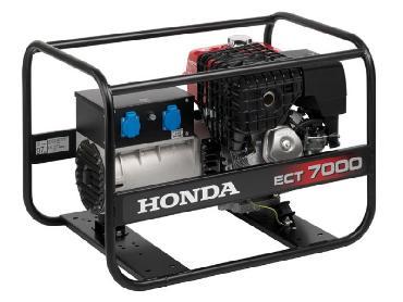 Аренда строительного генератора Honda ECT 7000