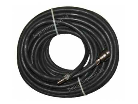 Rubber hose 10 m for rent - 1